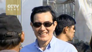 Taiwan leader Ma visits Taiping in South China Sea