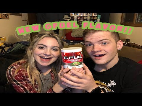 NEW!! SOUR CHERRY GFUEL!! (IS IT GOOD? TASTE-TEST + REVIEW)