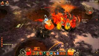 Diablo 3 Nightmare: Izual VS 2H Barb