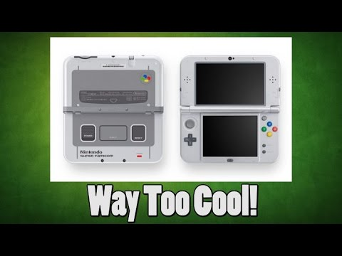 New Super Famicom 3DS XL Releasing Soon