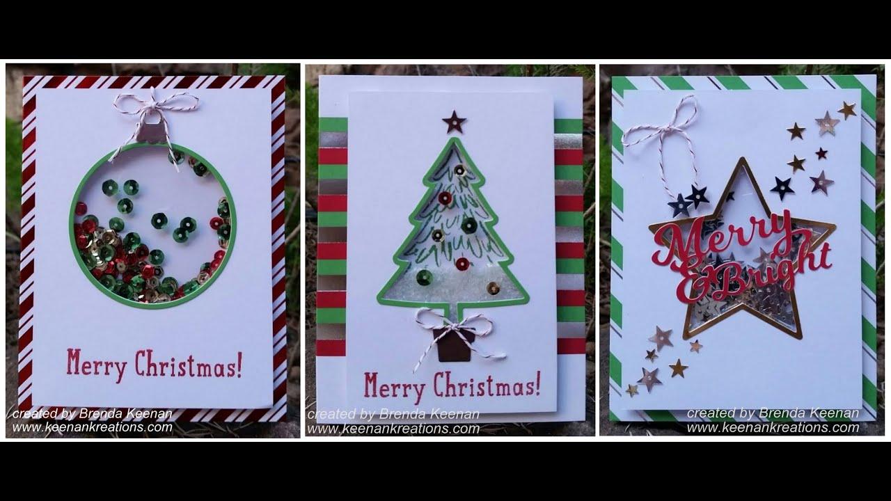 "handmade photo frame ideas - Stampin Up ""Shaker Card"" Kit tips"