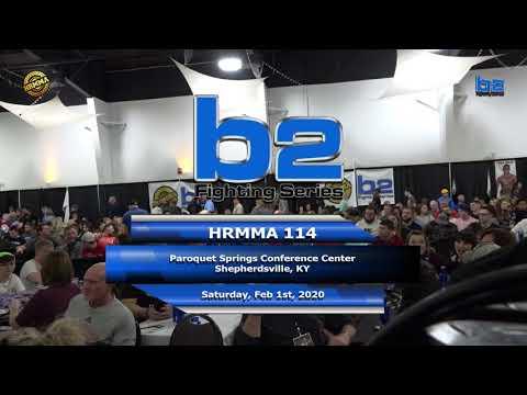 HRMMA 114 Fight 1 Justice Bumpus vs Nick Mondelli 170 Ammy