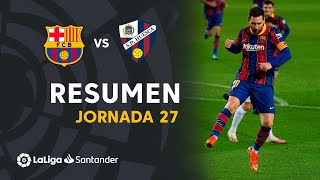 Resumen de FC Barcelona vs SD Huesca (4-1)