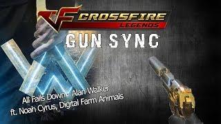 Download Lagu GUN SYNC | All Falls Down - Alan Walker – ft. Noah Cyrus, Digital Farm Animals Mp3