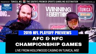 WCE: 1/20 Hollywood Casino Live Show - AFC & NFC Championship Preview