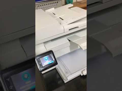 HP LaserJet Pro MFP M130fw 掃描異音