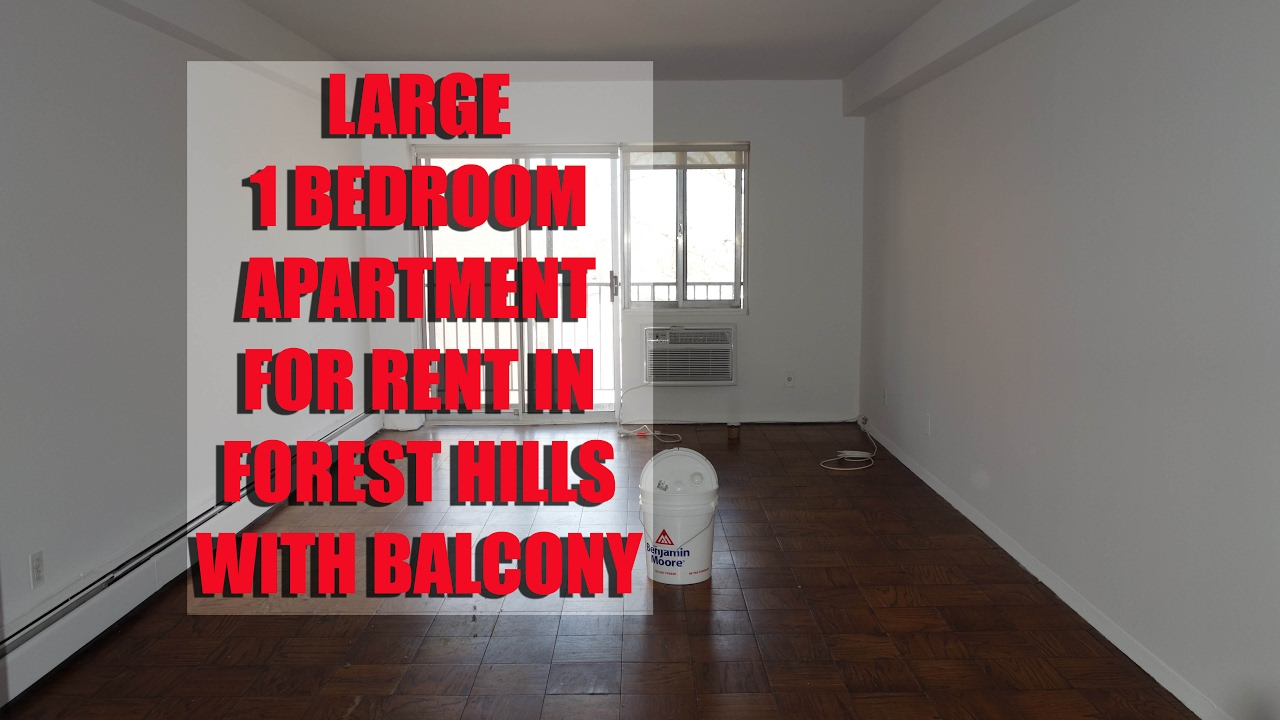 bedroom apartment with balcony for rent in forest hills queens nyc