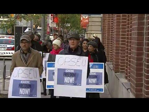 Back-to-work legistlation to end college strike blocked