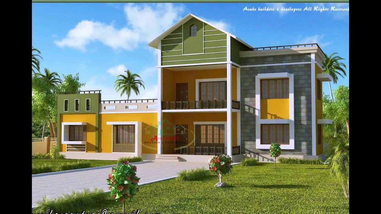 House Plans With Photos Kerala September 2015  Youtube