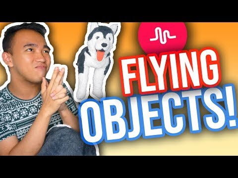 HOW TO MAKE THINGS FLY ON MUSICAL.LY! (iOS & Android)