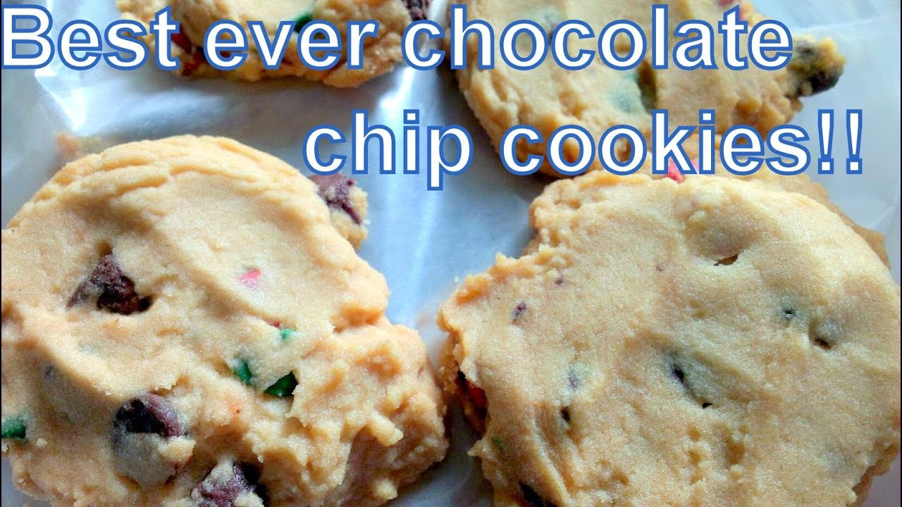 How to Make the Best Ever PERFECT Chocolate Chip Cookies - YouTube