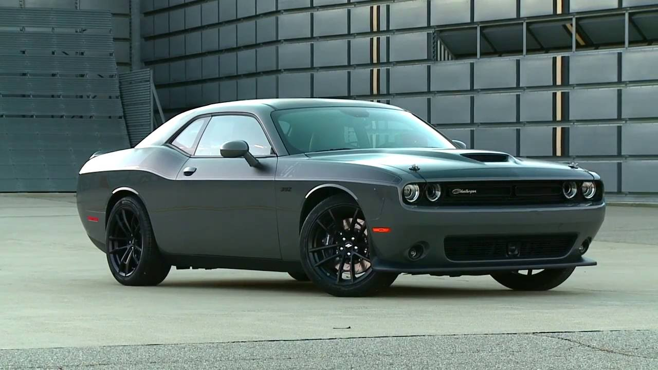 2017 Dodge Challenger T A 392 Youtube