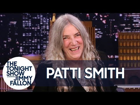 Robbyn Hart - Patti Smith on The Tonight Show with her Dylan stories.