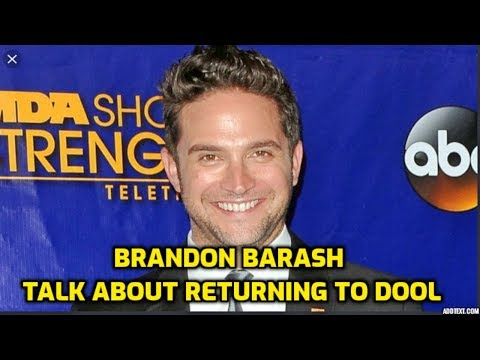 Days Of Our Lives Spoilers: Brandon Barash Talk About Returning To DOOL