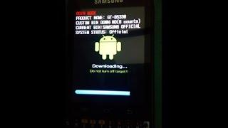 Cara Flash Samsung Galaxy Chat B5530 100% Work Download alat tempur: Odin, Samsung USB driver dan fi.