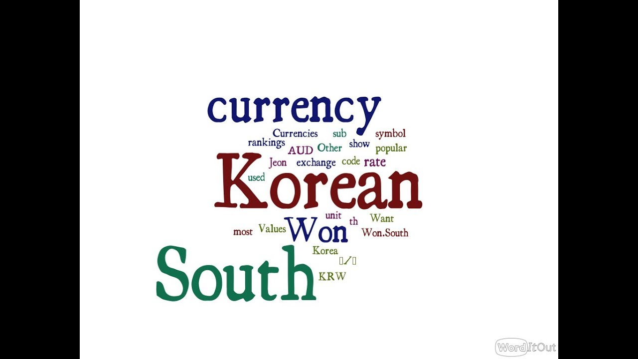 South korean currency won youtube south korean currency won buycottarizona