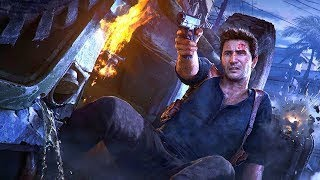 Uncharted 4: A Thief's End Chapter 15 Non stop Action PS4