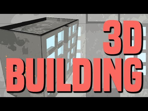 Flash to Blender - 3D Building