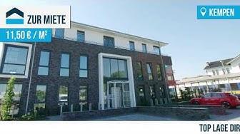 Kempen: Neubau, repräsentative Büro- und Praxisflächen am Bahnhof 125 - 285 m²
