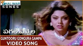Pagale Vennela Movie || Guntooru Gongura Gampa Video Song || Siva Balaji,  Mythili || Shalimar Songs