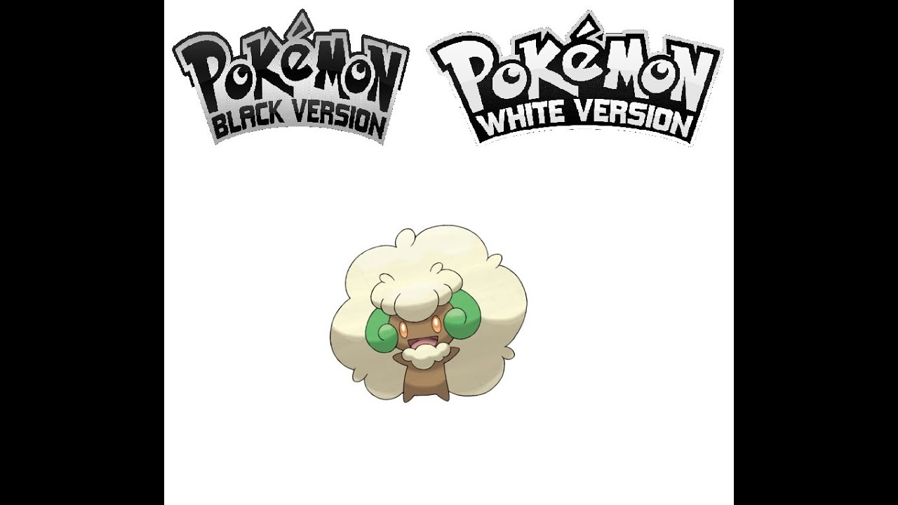Pokemon Black White Cottonee Evolves Into Whimsicott