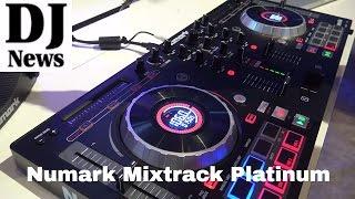 #Numark  Mixtrack Platinum DJ Controller with #Serato |