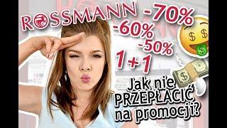 Rossmann 2019 NIE PRZESADZAJ!  ♥1 produkt jedna część makijażu