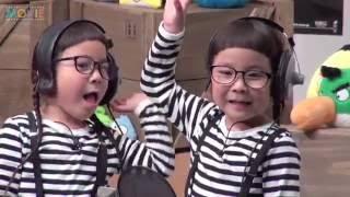 坂上忍、自由奔放な4歳の双子りんあんちゃんに翻弄されまくり!