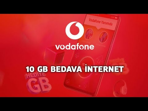 Vodafone Bedava İnternet [10GB] Hemen Yap Sende Kazan !!