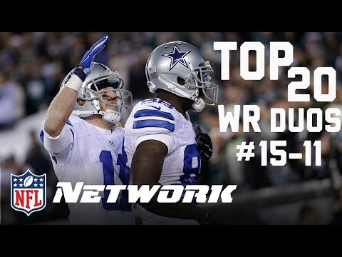 Top 20 Wide Receiver Duos Heading Into 2017 (#