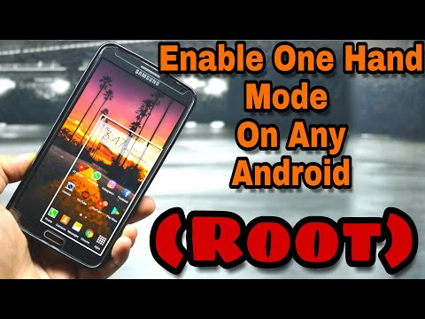 One Handed Mode On Any Android (Root)
