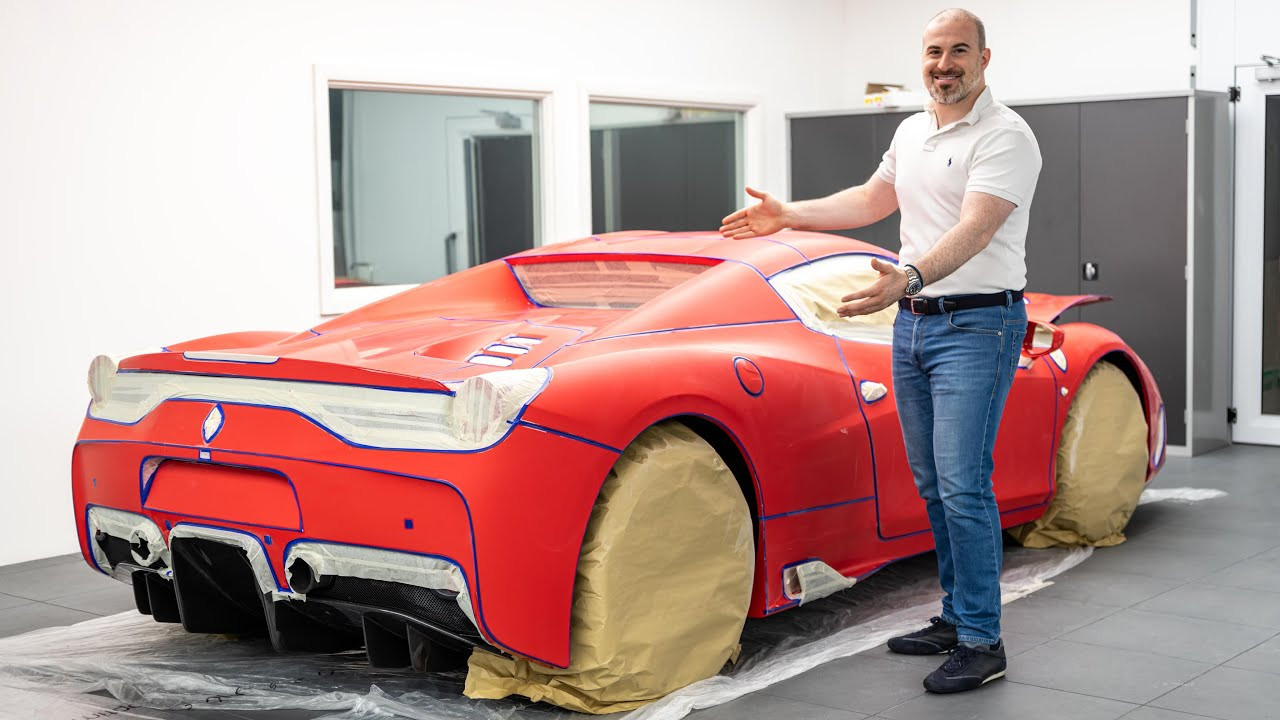 100 Hour Detail: How to Perfect a Limited Edition Ferrari's Paintwork