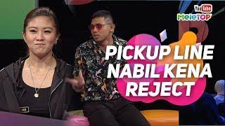 Pickup line Nabil kena reject dengan Elizabeth Tan | MeleTOP | Neelofa