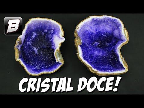 CRISTAL COMESTÍVEL DE AÇÚCAR | GEODES