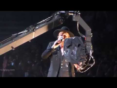 U2 exit live from paris