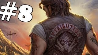Ride to Hell Retribution Walkthrough Part 8 Gameplay Review Lets Play Playthrough PC/PS3/Xbox 360
