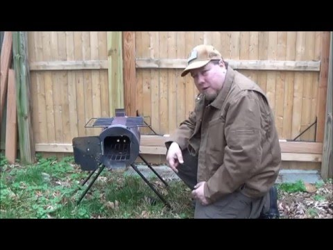 MILITARY CAMPING WOOD COOKING STOVE/TENT HEATER PART 2 (UPGRADES)  sc 1 st  YouTube & MILITARY CAMPING WOOD COOKING STOVE/TENT HEATER PART 2 (UPGRADES ...