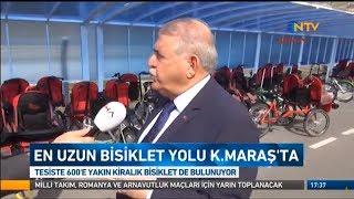 NTV Haber Bülteni - En Uzun Bisiklet Yolu Kahramanmaraş'ta - 05.11.2017