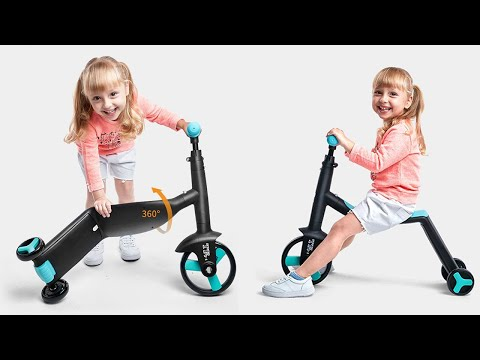 3 In 1 Balance Bike Children Tricycle Review 2020 —— Does it work ?