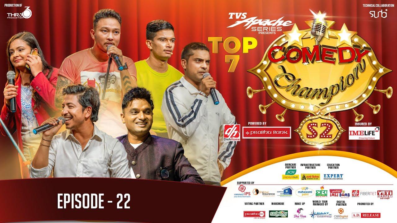 Comedy Champion Season 2 - TOP 7 - Episode 22