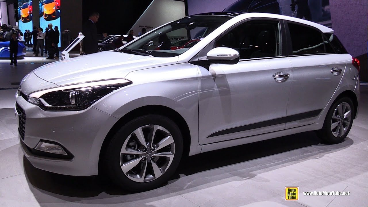 2017 hyundai i20 exterior and interior walkaround 2017 geneva motor show youtube. Black Bedroom Furniture Sets. Home Design Ideas