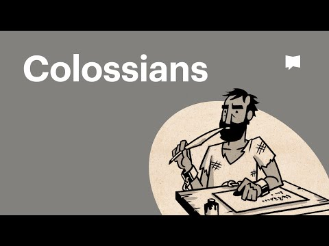 Read Scripture: Colossians