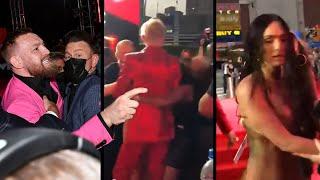 Watch Conor McGregor and Machine Gun Kelly's VMAs FIGHT