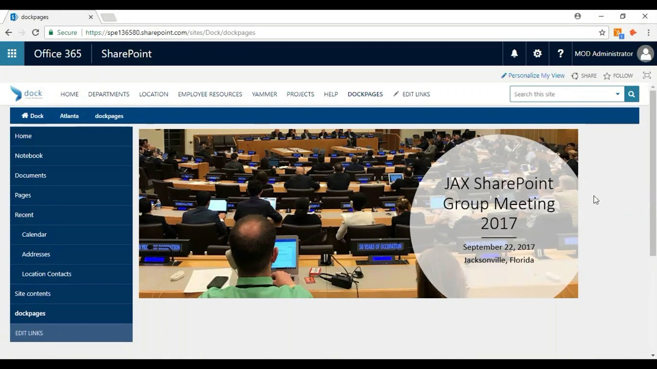 Tutorial : How to add Banners & Clickable Buttons in a SharePoint Page?