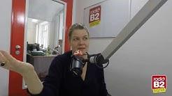 Birge Schade zu Gast bei radio B2 - Chefsache, Macher im Gespräch