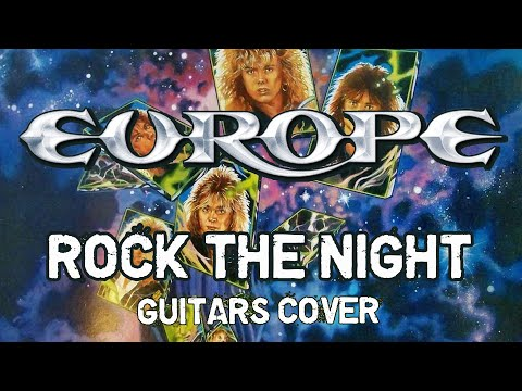 """Europe - """"Rock the night"""" (Guitar Cover)"""