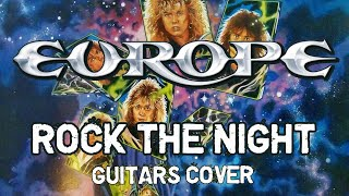 "Europe - ""Rock the night"" (Guitar Cover)"