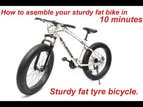 How assemble new  fat bike (sturdy fat tyre bicycle)