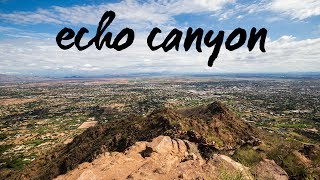 Echo Canyon Summit Trail Hike, Phoenix