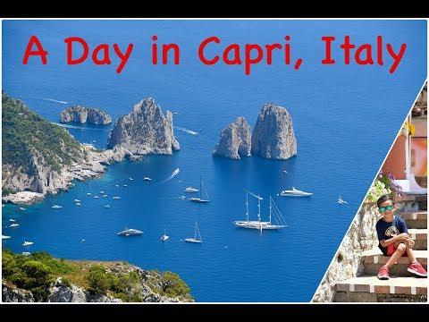 Europe Travel Diaries : Capri, Italy - by Ishaan & Family